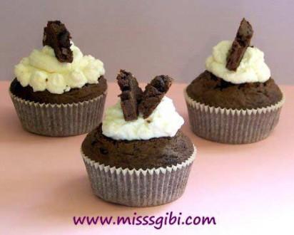 labne kremalı muffin