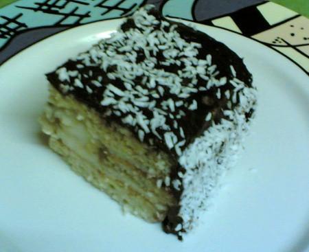 Kabaklı pasta