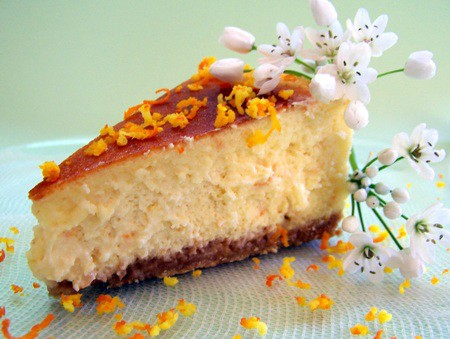 ricottalı cheesecake