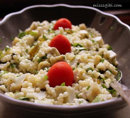 kuskus salatası