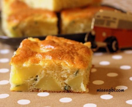 kolay patatesli kek