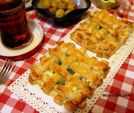 peynirli kafes börek