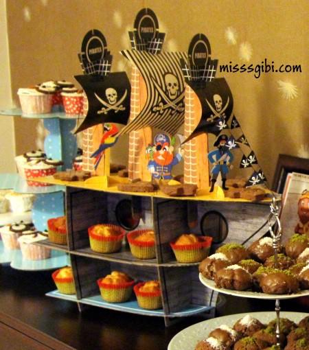 muffin standı
