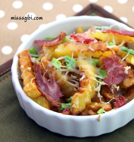 pastırmalı patatesli garnitür