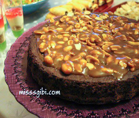 fistikli karamelli browni