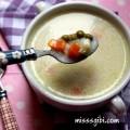 garnitürlü tavuklu çorba