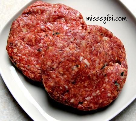 hamburger köftesi