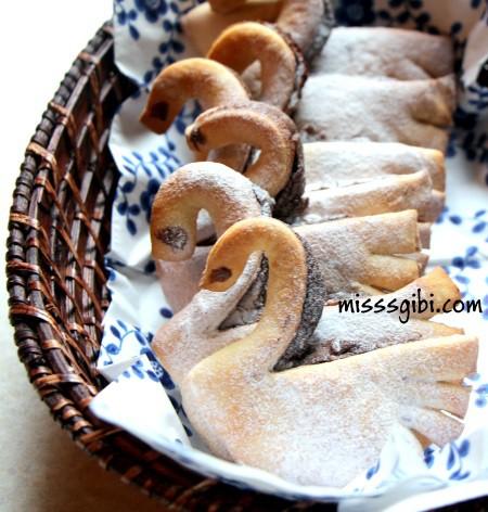 kuğu kurabiye