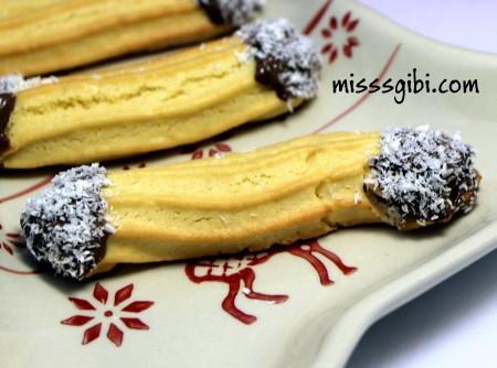pastane usulü tırtıl kurabiye