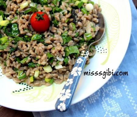 pancarlı arpa şehriye salatası
