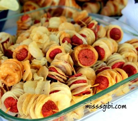 sosisli çıtır börek