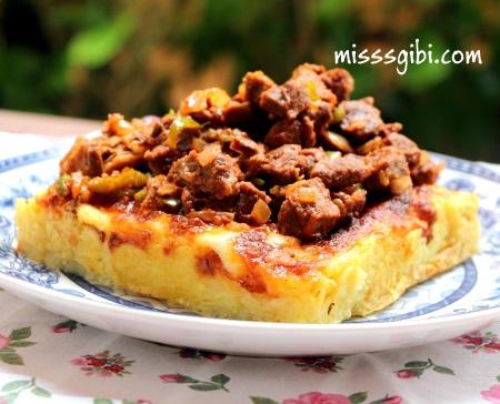 patates püreli et
