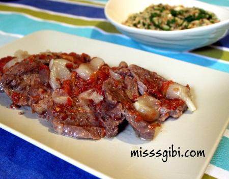 tencerede biftek
