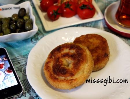 gül böreği kızartması