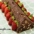 Piramit pasta yapımı