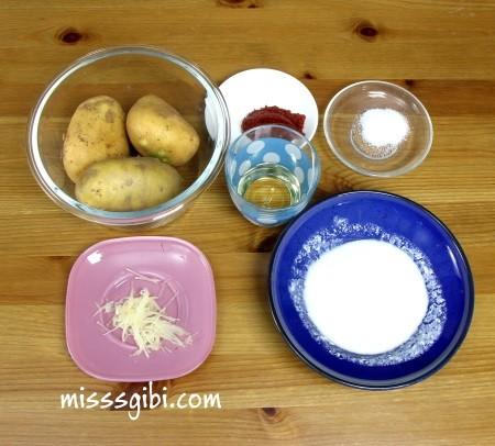patates mantısı malzemeleri