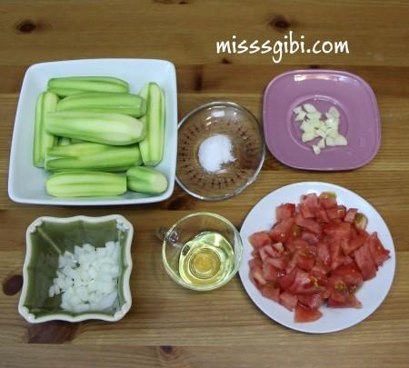 zeytinyagli kabak yemeği