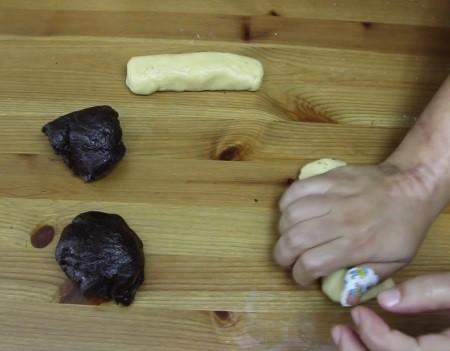 damalı kurabiye hazırlanışı