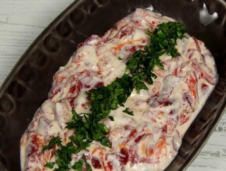 Kırmızı Biber Salatası Tarifi Misssgibi Yemek Tarifleri