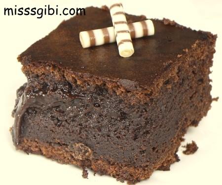 bol cikolatalı browni